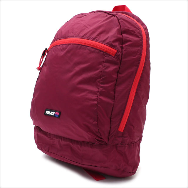 Palace Skateboards(パレス スケートボード) Pack Sack (バックパック) BEET RED 418-000170-013+【新品】