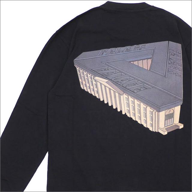 Palace Skateboards(パレス スケートボード) PALAZZO L/S TEE (長袖Tシャツ) BLACK 420-000167-041x【新品】