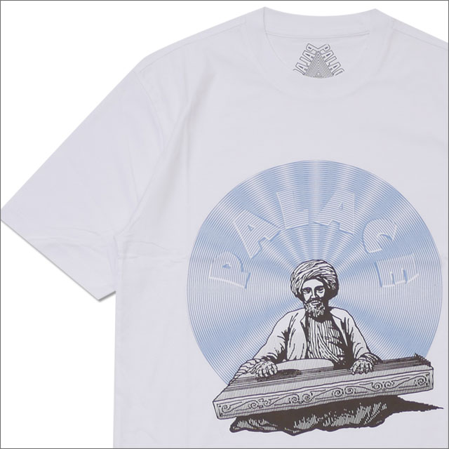 Palace Skateboards(パレス スケートボード) DOLCI T-SHIRT (Tシャツ) WHITE 420-000168-040x【新品】