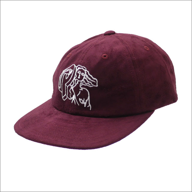 Palace Skateboards(パレス スケートボード) Suede Pj'S 6-Panel (キャップ) BURGUNDY 418-000178-019x【新品】