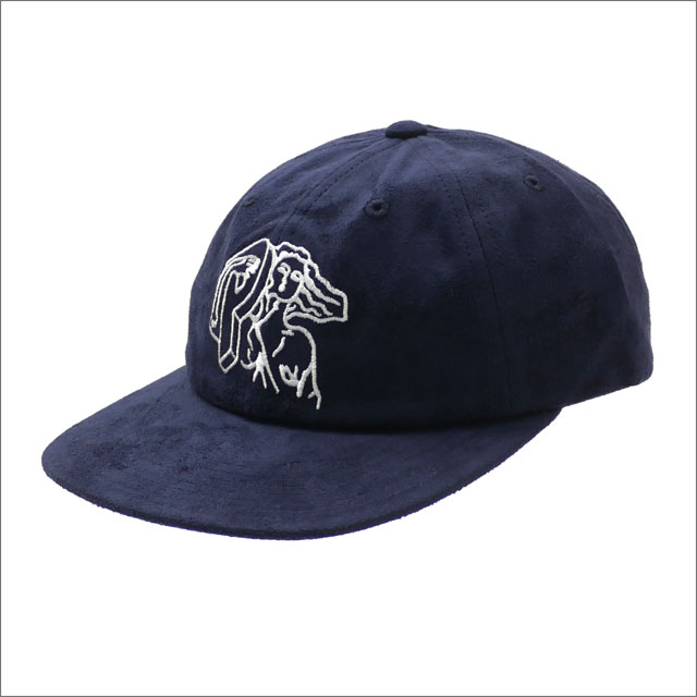 Palace Skateboards(パレス スケートボード) Suede Pj'S 6-Panel (キャップ) NAVY 418-000178-017x【新品】