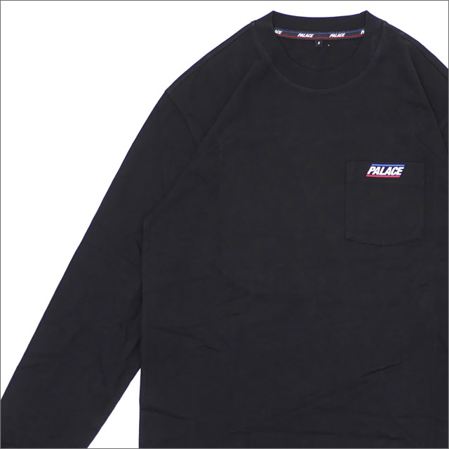 Palace Skateboards(パレス スケートボード) Basically A Pocket Longsleeve (長袖Tシャツ) BLACK 418-000151-031x【新品】