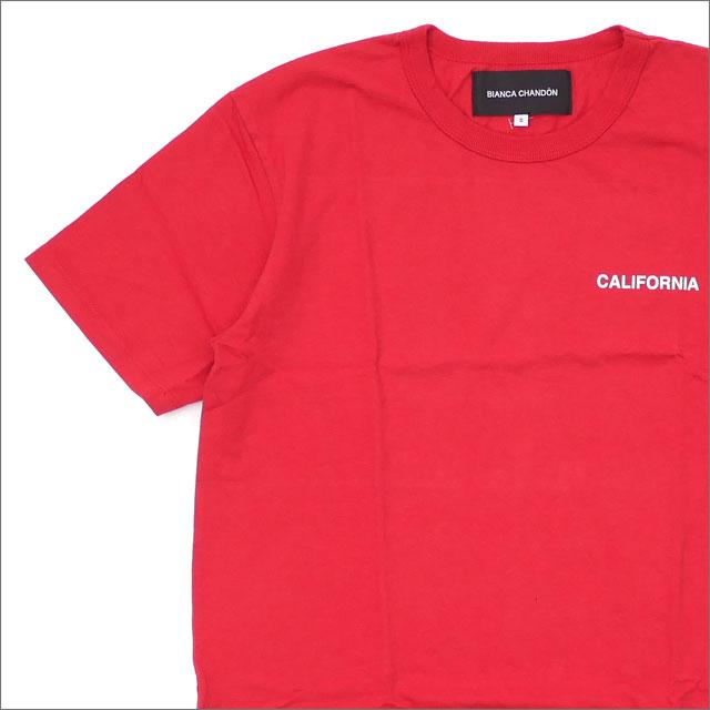 Bianca Chandon(ビアンカシャンドン) California T-Shirt (Tシャツ) RED 418-000211-033+【新品】