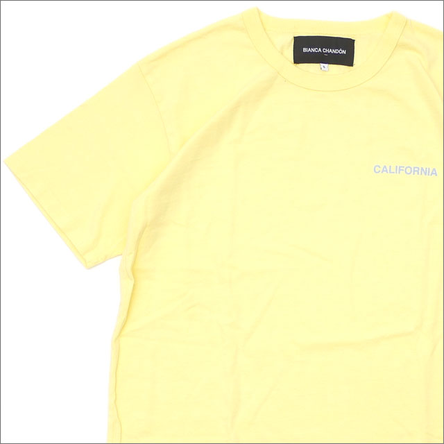 Bianca Chandon(ビアンカシャンドン) California T-Shirt (Tシャツ) YELLOW 418-000211-038+【新品】