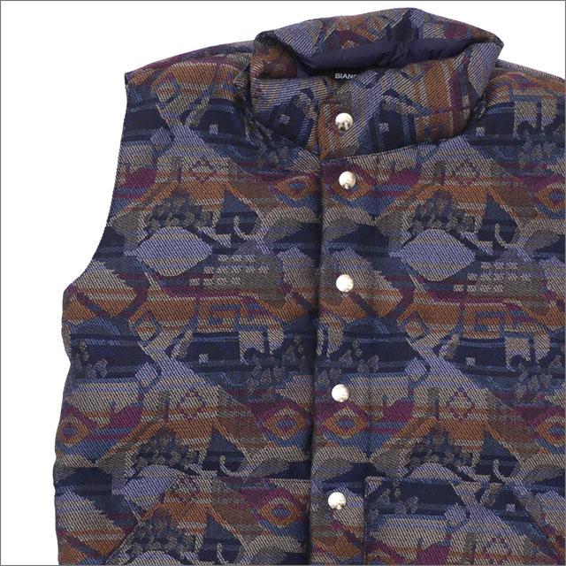 Bianca Chandon(ビアンカシャンドン) English Wool Down Vest (ダウンベスト) NAVY 418-000228-037+【新品】