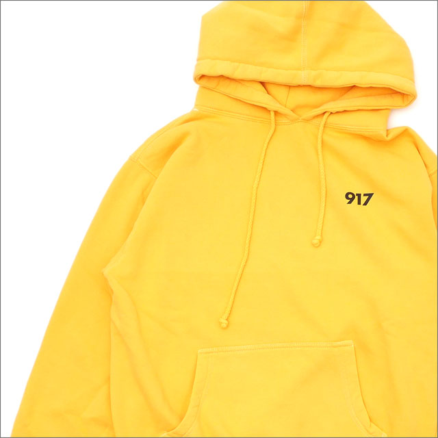 917(ナインワンセブン)(Nine One Seven) Area Code Pullover Hood (パーカー) YELLOW 418-000255-038x【新品】
