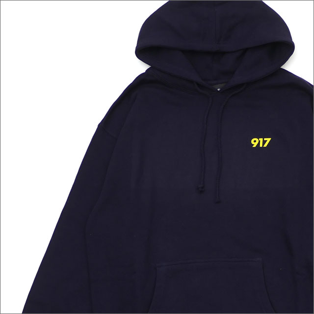 917(ナインワンセブン)(Nine One Seven) Area Code Pullover Hood (パーカー) NAVY 418-000255-037x【新品】