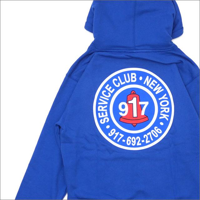 917(ナインワンセブン)(Nine One Seven) Club Pullover Hood (パーカー) BLUE 418-000237-034x【新品】