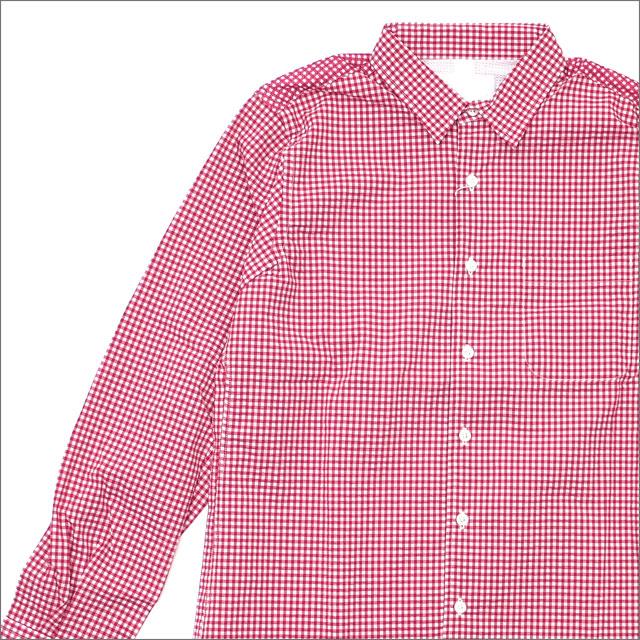 nanamica(ナナミカ) WIND SHIRT CHECK (長袖シャツ) RED 420-000169-033+【新品】