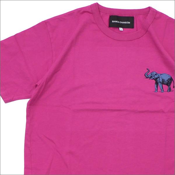 Bianca Chandon(ビアンカシャンドン) Elephant T-Shirt (Tシャツ) PINK 418-000224-053+【新品】