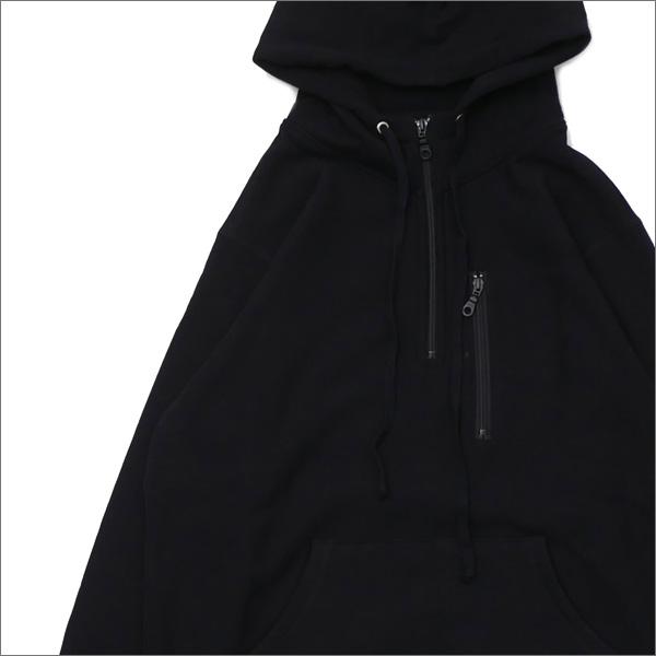 Bianca Chandon ビアンカシャンドン Travel Quarter Zip Pullover Hood スウェットパーカー BLACK 418000220031 【新品】