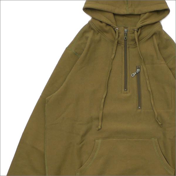 Bianca Chandon(ビアンカシャンドン) Travel Quarter Zip Pullover Hood (スウェットパーカー) OLIVE 418-000220-035+【新品】