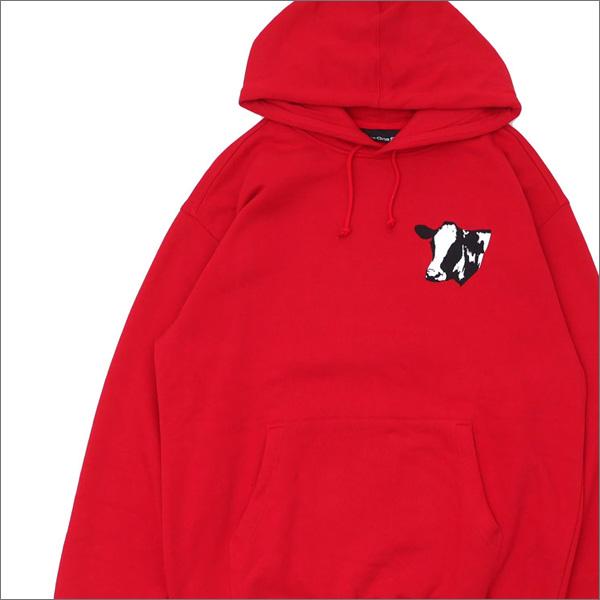 917(ナインワンセブン)(Nine One Seven) Meet Meat Pullover Hood (スウェットパーカー) RED 418-000293-033+【新品】