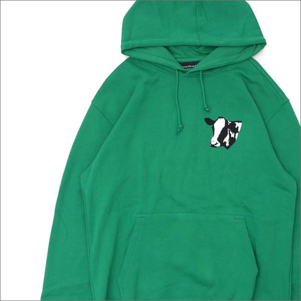 917(ナインワンセブン)(Nine One Seven) Meet Meat Pullover Hood (スウェットパーカー) GREEN 418-000293-065+【新品】