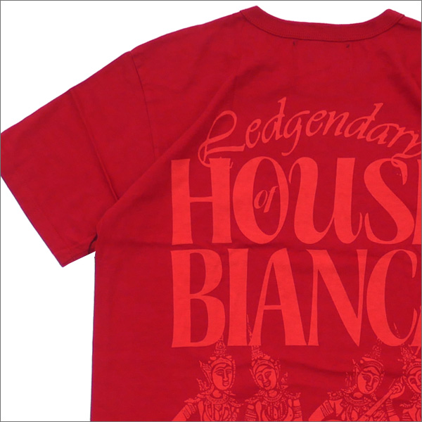 Bianca Chandon(ビアンカシャンドン) Legendary House Of Bianca T-Shirt (Tシャツ) BRICK 418-000222-039+【新品】