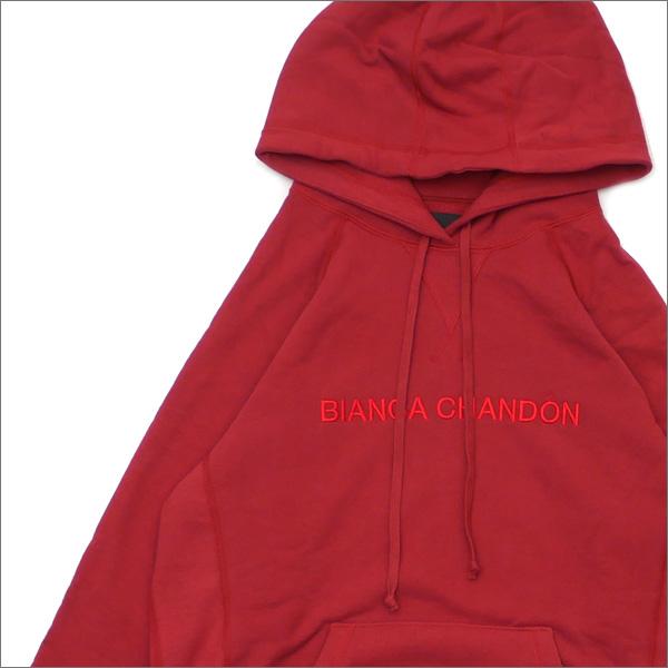 Bianca Chandon(ビアンカシャンドン) Logotype Pullover Hood (スウェットパーカー) BRICK 418-000225-039+【新品】