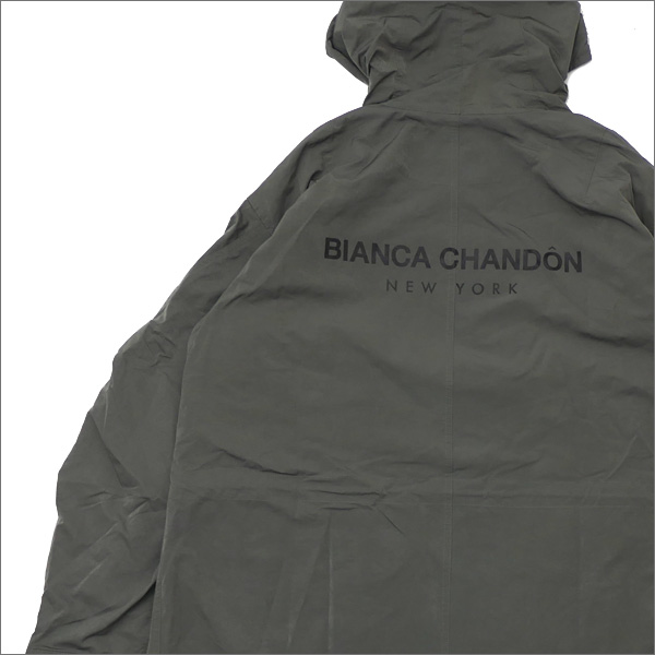 Bianca Chandon(ビアンカシャンドン) Oversized Adjustable Jacket With Back-Print (ジャケット) OLIVE 418-000311-035+【新品】