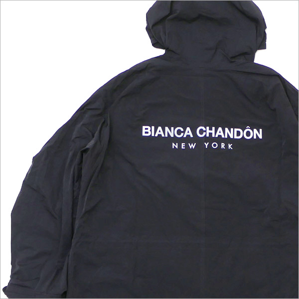 Bianca Chandon(ビアンカシャンドン) Oversized Adjustable Jacket With Back-Print (ジャケット) BLACK 418-000311-051+【新品】
