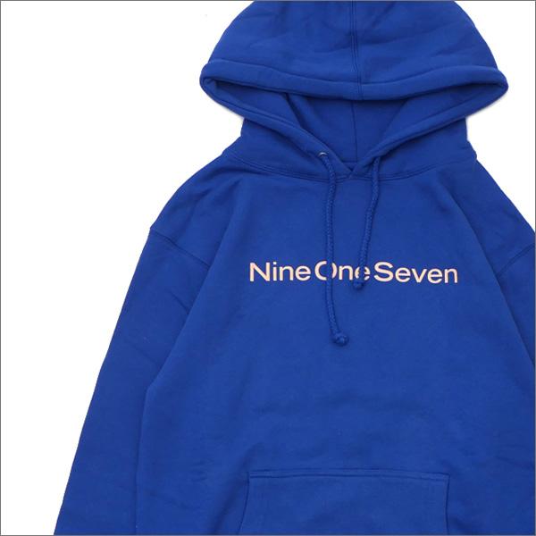 917(ナインワンセブン)(Nine One Seven) Nine One Seven Hooded Sweatshirt (スウェットパーカー) BLUE 418-000296-034+【新品】