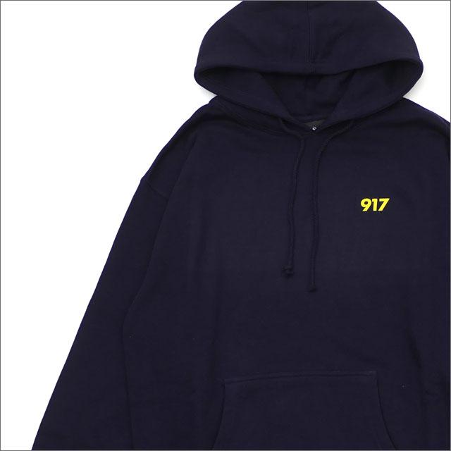 917(ナインワンセブン)(Nine One Seven) Area Code Pullover Hood (パーカー) NAVY 418-000264-037x【新品】