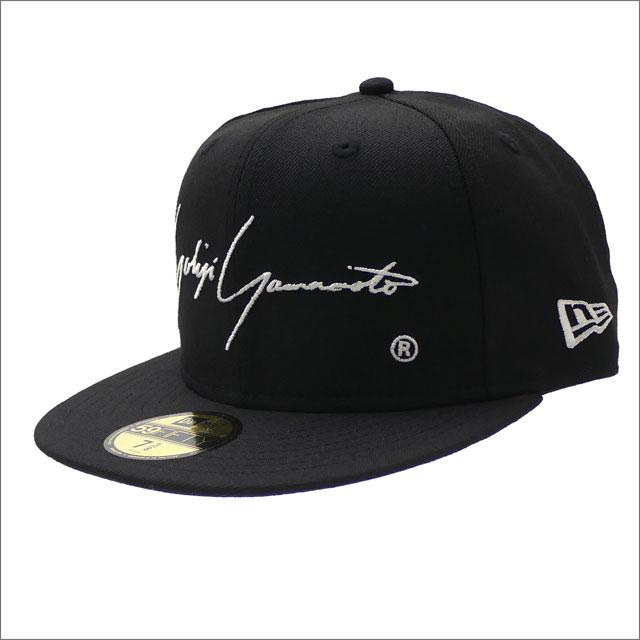 Yohji Yamamoto(ヨウジヤマモト) xNEW ERA(ニューエラ) 59FIFTY RELEASE DATE CAP H40 1986-1992 BLACK 250-000448-041x【新品】