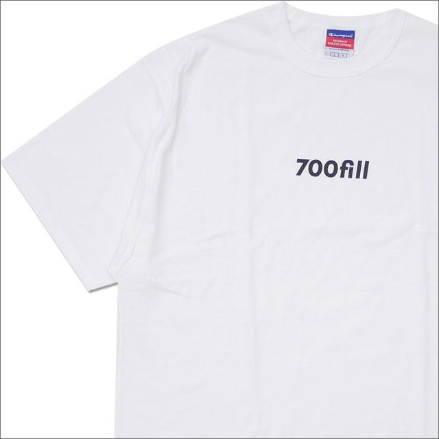 700fill(セブンハンドレッドフィル) Payment Logo Tee (Tシャツ) WHITE 200-007871-050+【新品】