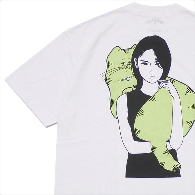 min-nano(ミンナノ) Cat Girl Tee (Tシャツ) WHITE 200-007880-050+【新品】