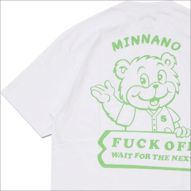 min-nano(ミンナノ) x PORTER(ポーター) Bear Tee (Tシャツ) WHITE 200-007879-050+【新品】