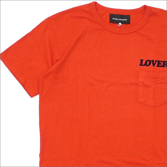 Bianca Chandon ビアンカシャンドン LOVER TSHIRT Tシャツ ORANGE 420000180058 【新品】