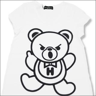 HYSTERIC GLAMOUR(히스테릭글래머) 베어 롱 T셔츠(레이디스)
