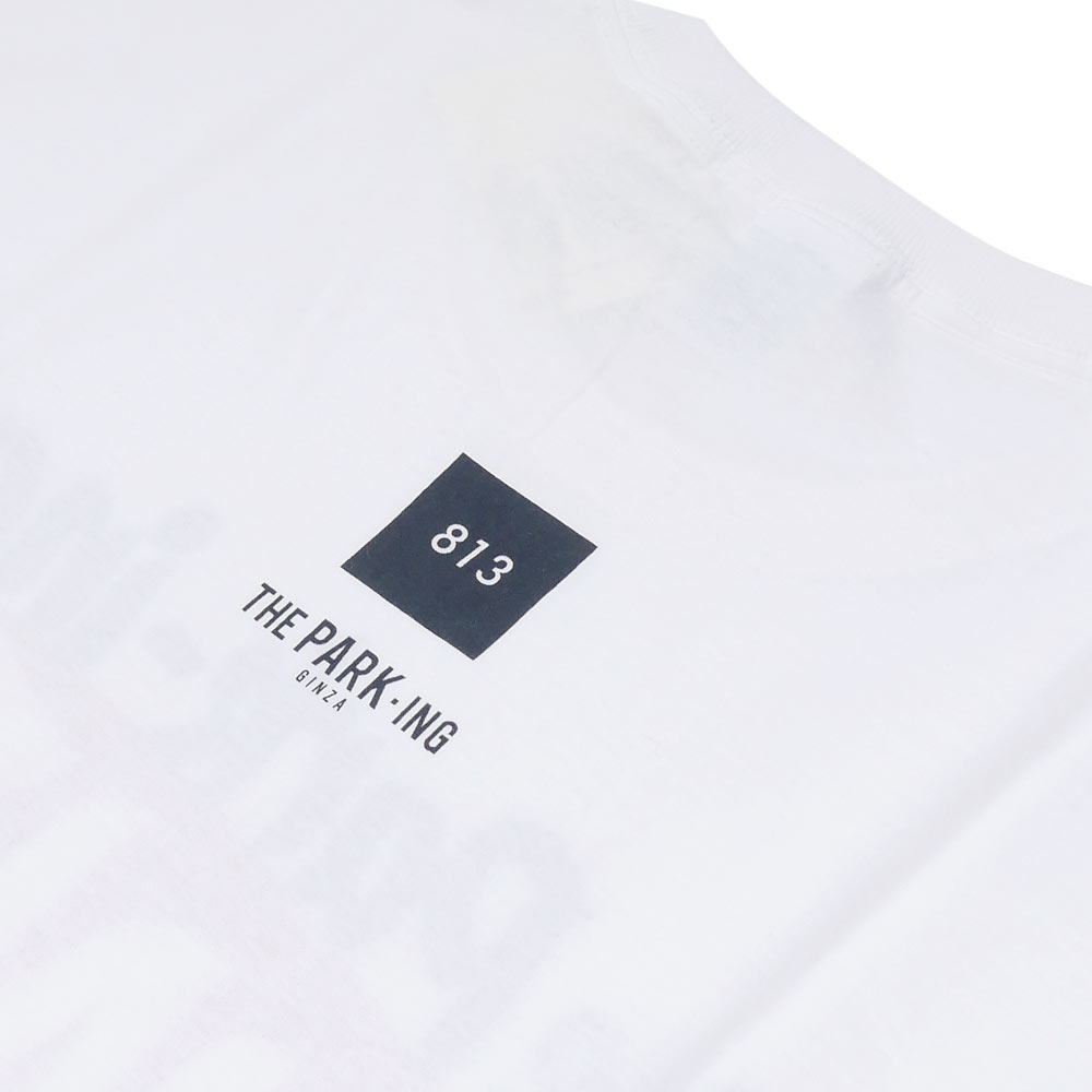 THE PARK・ING GINZA(더・주차 긴자) x FRUIT OF THE LOOM(프루츠 오브더 룸) NO813 TEE 02 (T셔츠) WHITE 200-006957-040+