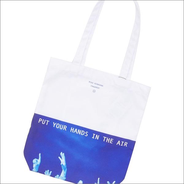 THE PARK・ING GINZA(ザ・パーキング銀座) x 蜷川実花 x Fragment Design(フラグメントデザイン) LIGHT OF TOTE BAG (トートバッグ) WHITExBLUE 277-002280-014x【新品】