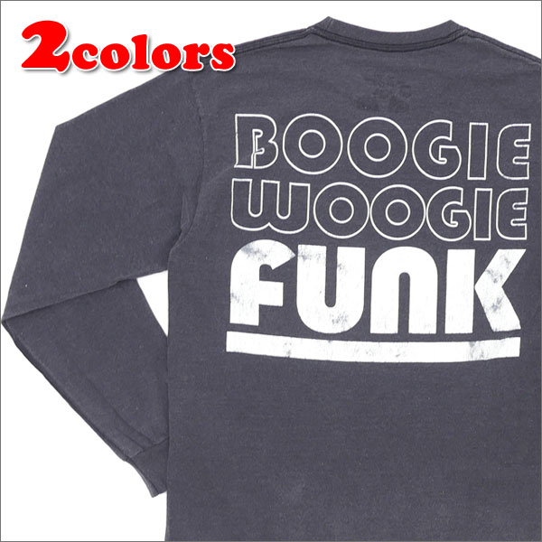 THE PARK・ING GINZA(ザ・パーキング銀座) POGGY'S BOX 2(ポギーズ ボックス) BOOGIE WOOGIE FUNK L/S TEE (長袖Tシャツ) 202-000812-051+【新品】