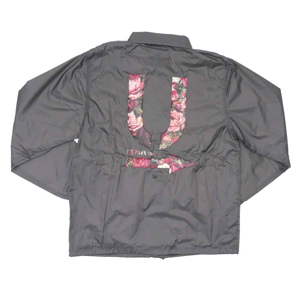 THE PARK・ING GINZA(더・주차 긴자) x UNDERCOVER(은밀) U COACH JACKET (코치 재킷) GRAY 225-000272-042+