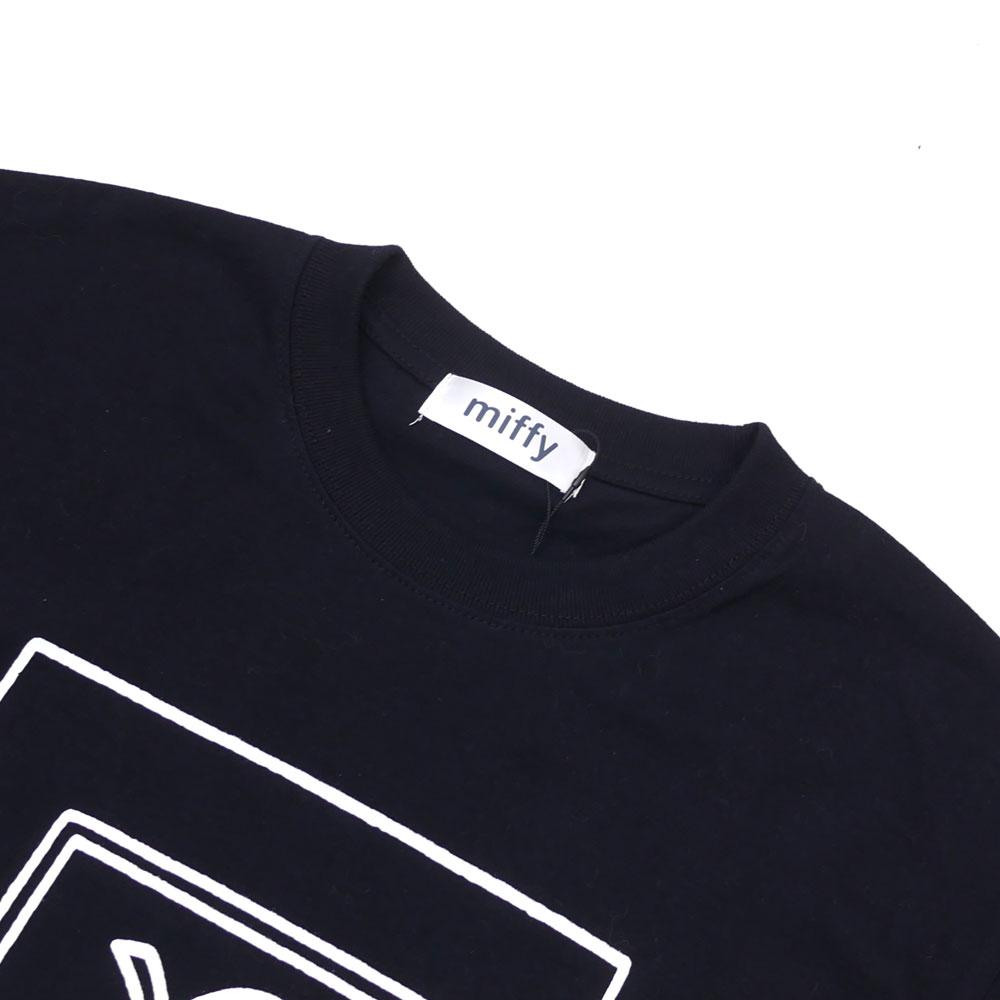 THE PARK・ING GINZA(더・주차 긴자) x FMAM (에프엠 진폭 변조) DICK BRUNA TEE (T셔츠) BLACK 200-007261-041 x