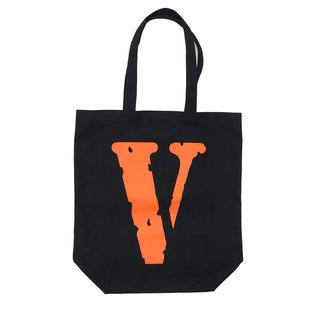 VLONE x Fragment Design CANVAS TOTE JAIL V FRAGMENT BLACK 277-002364-011+ THE PARK ING GINZA
