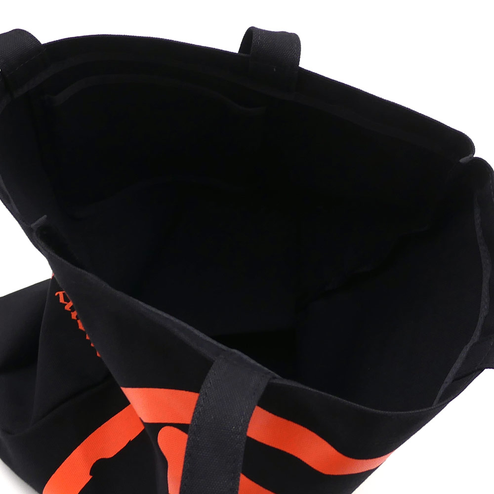 VLONE(비론) x Fragment Design(fragment 디자인) CANVAS TOTE JAIL V PARKING (토트 백) BLACK 277-002365-011+ THE PARK・ING GINZA(더・주차 긴자)