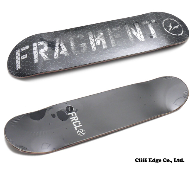 CHALLENGER(챌린저) x Fragment Design(fragment 디자인) the POOL aoyama (더 풀 아오야마) FRCL SKATE DECK 8.0 inch (스케이트 데크) BLACK 290-003536-011 x