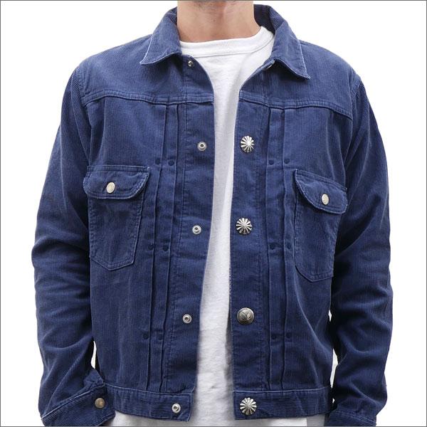 Ron Herman (ロンハーマン) x Wrangler (ラングラー) Corduroy Concho Denim Jacket (ジャケット) NAVY 224-000086-057x【新品】