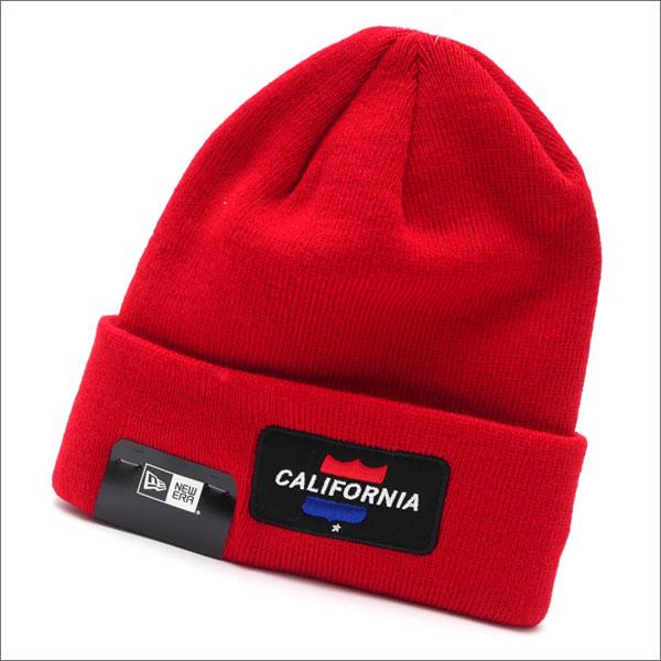 Ron Herman(ロンハーマン) x New Era(ニューエラ) CALIFORNIA BEANIE (ビーニー)(ニットキャップ) RED 253-000343-013x【新品】