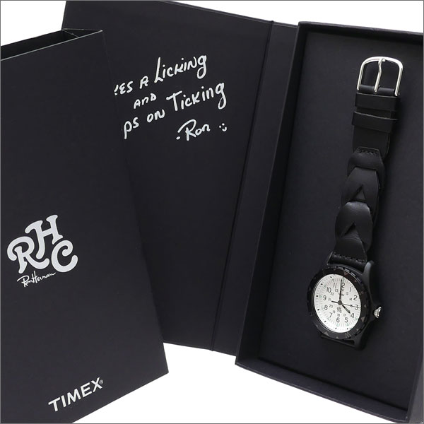 RHC Ron Herman(ロンハーマン) x TIMEX(タイメックス) SAFARI (サファリ)(腕時計) BLACK 287-000195-011x【新品】