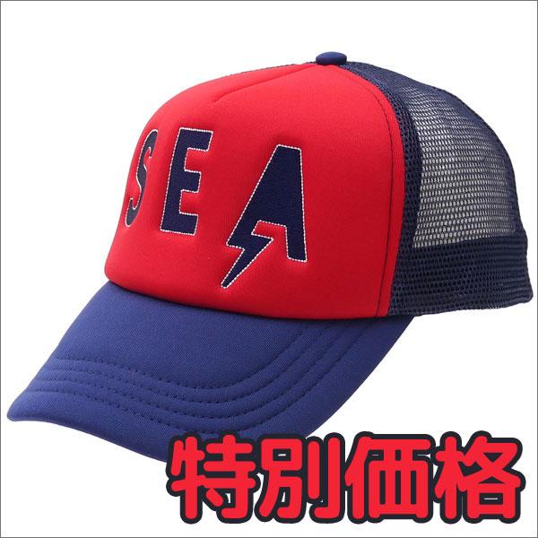 【期間限定特別価格!!】 Ron Herman(ロンハーマン) Sea Trucker Cap (キャップ) RED 251-001106-013+【新品】