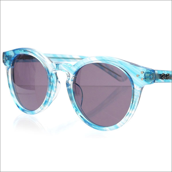 Ron Herman(ロンハーマン) x金子眼鏡(KANEKO OPTICAL) Classic Boston Sunglass (サングラス) LT.BLUE 286-000154-014-【新品】