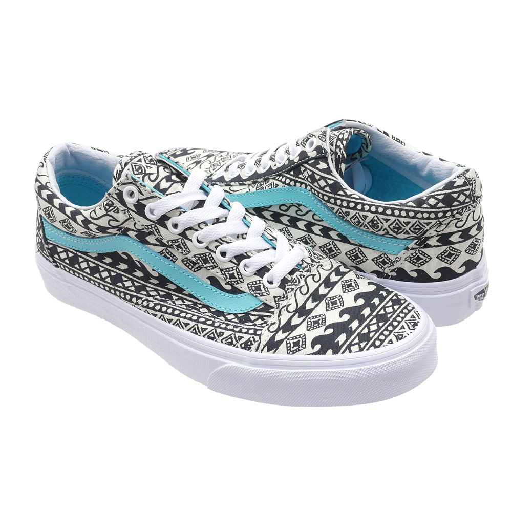 Ron Herman(朗赫尔曼)x VANS(卡车)Old Skool(老学校)(鞋)(运动鞋)(WAVE GEO)CLOUD CREAM/TR 291-002229-270x)