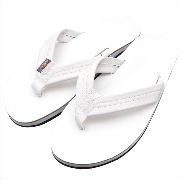 46cb758f7cf8 Cliff Edge  Ron Herman x RAINBOW SANDALS Single Layer Sandals WHITE ...