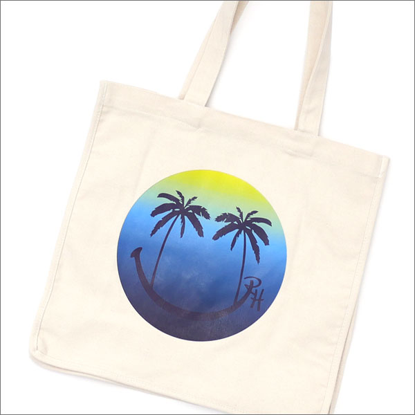Ron Herman(ロンハーマン) PALM SMILE TOTE BAG (トートバッグ) NATURAL 290-004487-010+【新品】