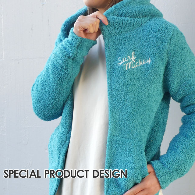 SPECIAL PRODUCT DESIGN スペシャルプロダクトデザイン INSHORE インショア ロンハーマン Ron Herman 取り扱い SURF MICKEY PARKA パーカー TURQUOISE BLUE 212001004024 【新品】
