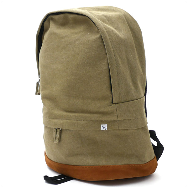 Ron Herman(ロンハーマン) Cotton Suede Backpack (バックパック) OLIVE 276-000277-015-【新品】