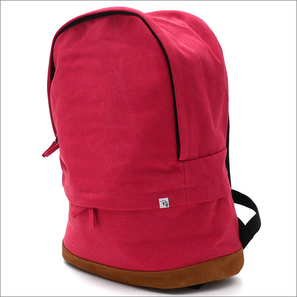 Ron Herman(ロンハーマン) Cotton Suede Backpack (バックパック) RED 276-000277-013-【新品】