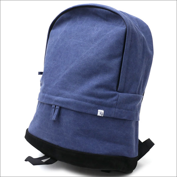 Ron Herman(ロンハーマン) Cotton Suede Backpack (バックパック) NAVY 276-000277-017-【新品】